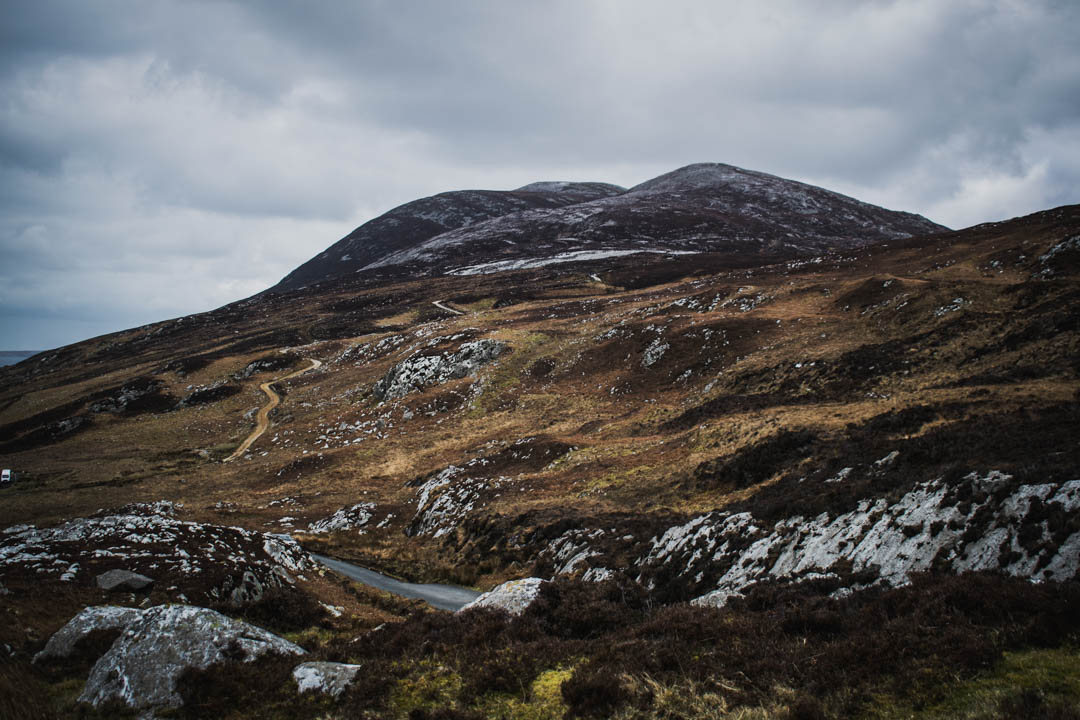 urris hills, mamore gap, donegal, ireland