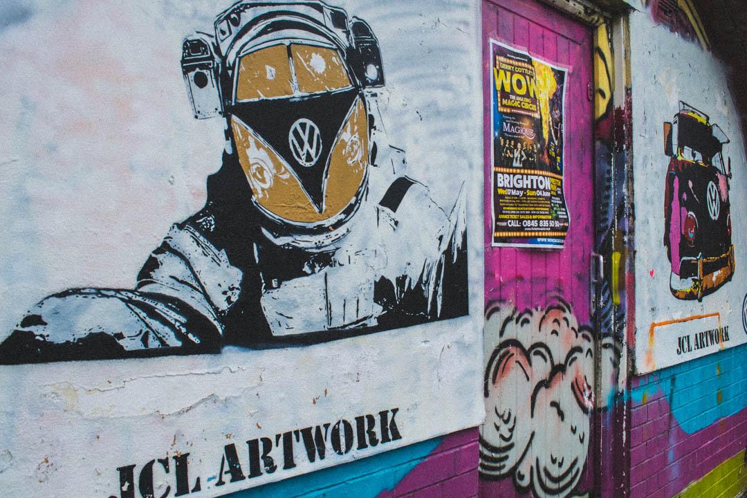 street art volkswagen