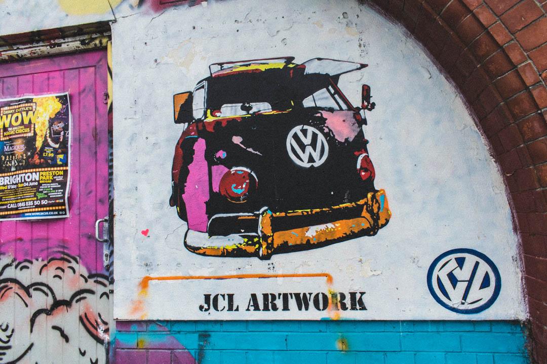 vw street art