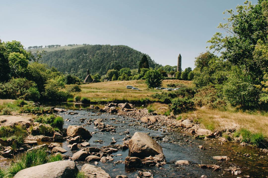glendalough, ireland, wicklow, landscape, outdoors