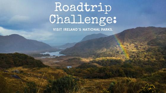 roadtrip, visit ireland's national parks. killarney national park, ladies view
