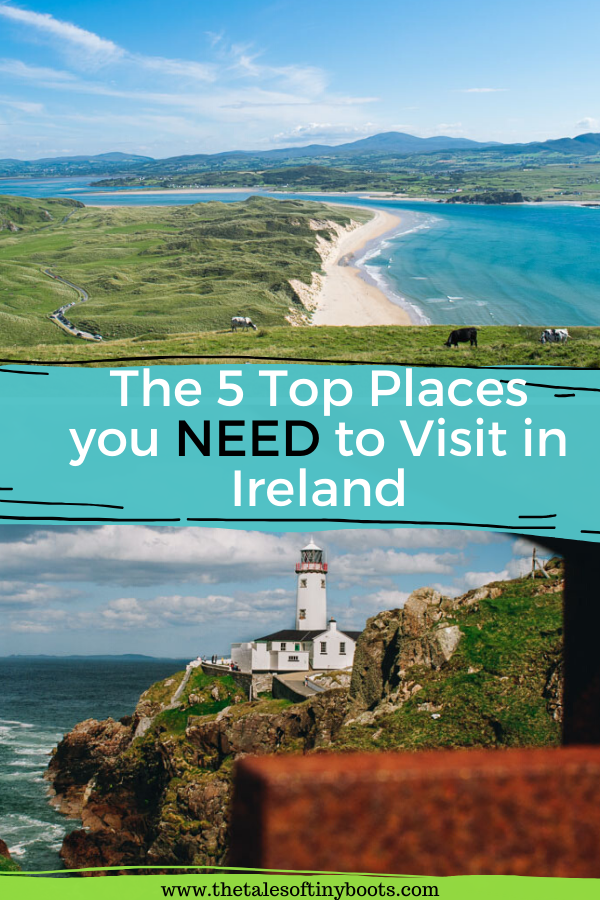 pin this post , ireland, top places to see in ireland