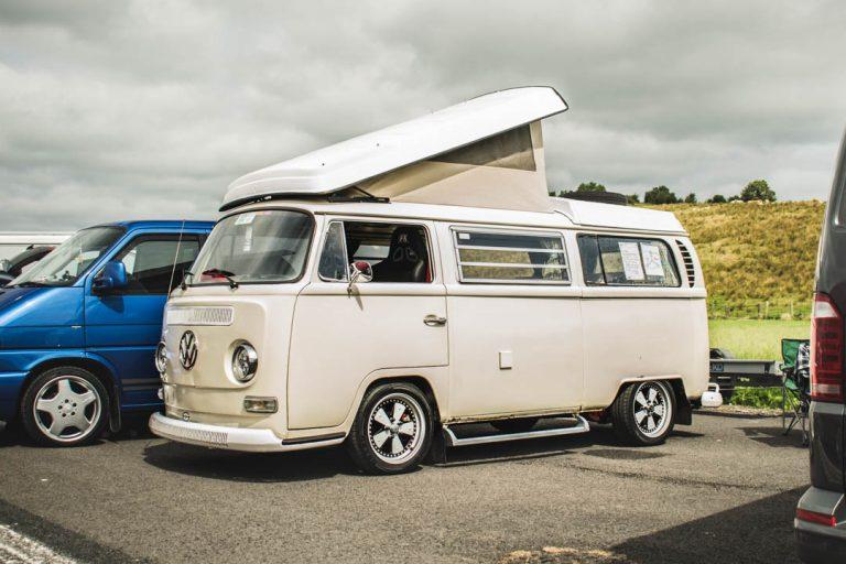 cream vw camper volkswagen camper hippie van