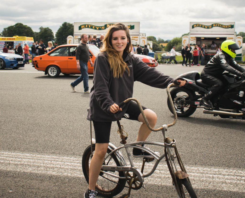 drag day chopper bike