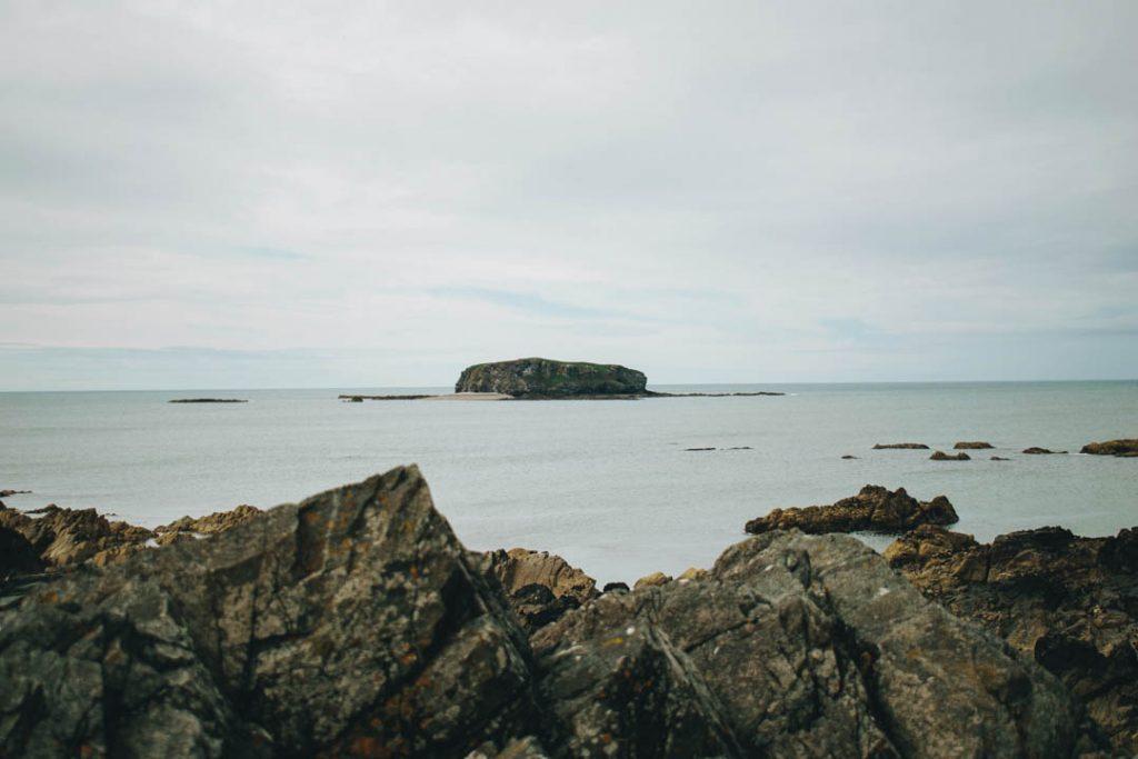 glashedy island carrickabraghy castle donegal ireland ocean island