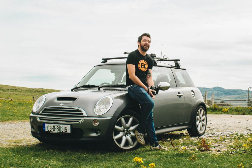 mini cooper s donegal ireland