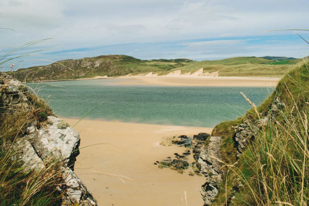 doagh island beach donegal ireland