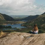 ladies view, killarney kerry. national park view