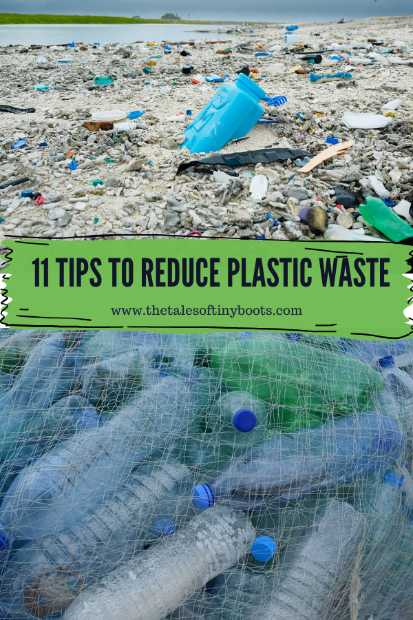 11 tips to reduce plastic waste, plastic footprint