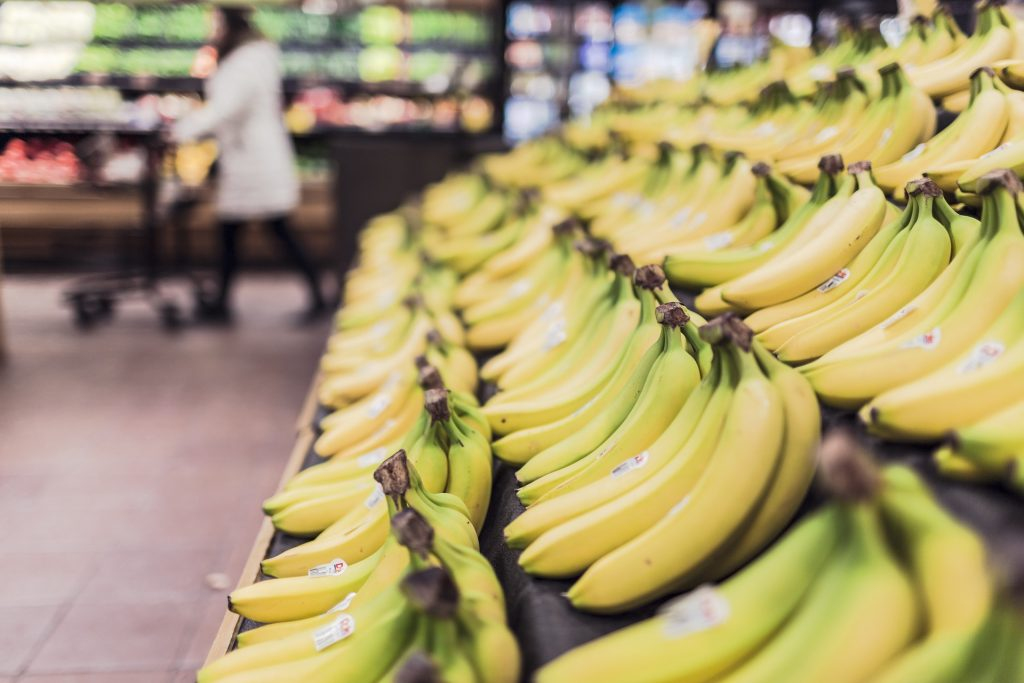 food waste, bananas, banana , rubbish