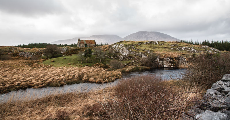 connemara national park, scenery, galway, ireland