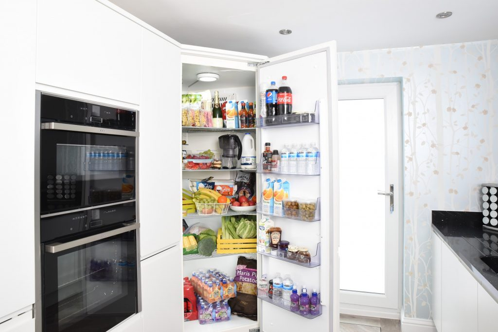 food waste, fridge, refridgerator
