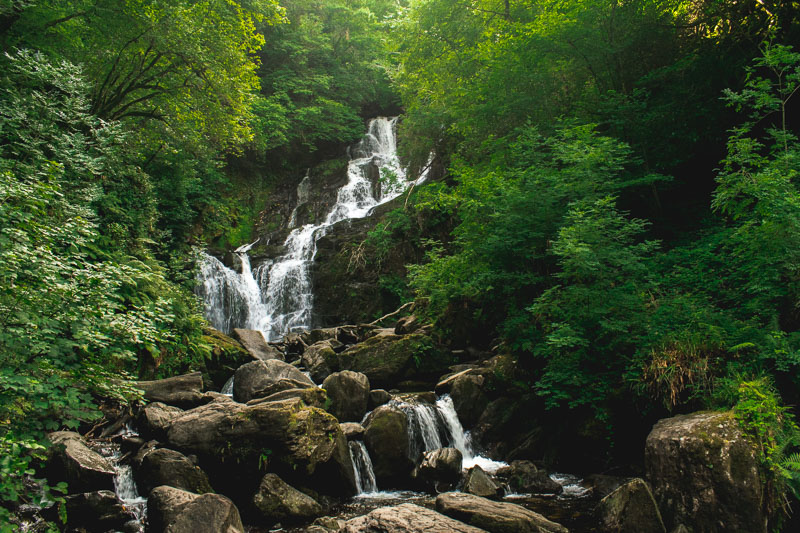 killarney, torc waterfall
