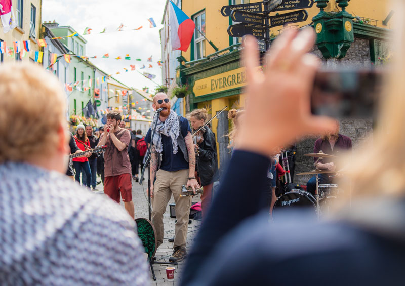 top places you need to see in ireland, shop street, galway