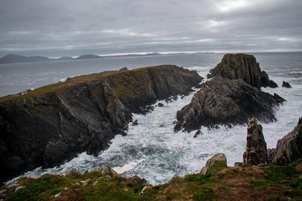 new years day, waves, donegal, wild atlantic way