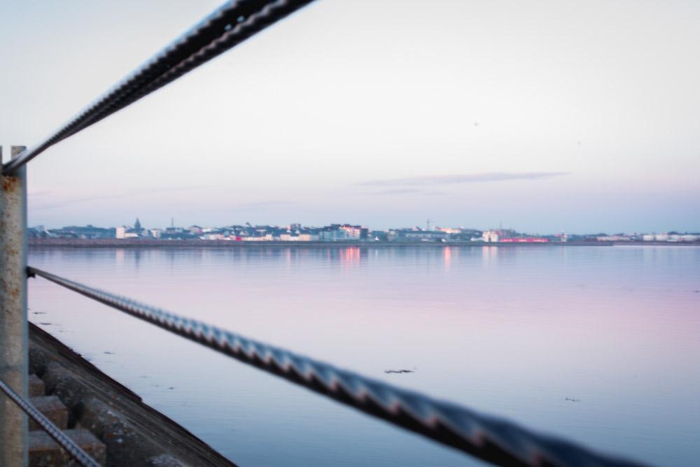 blue hour, long exposure , ocean