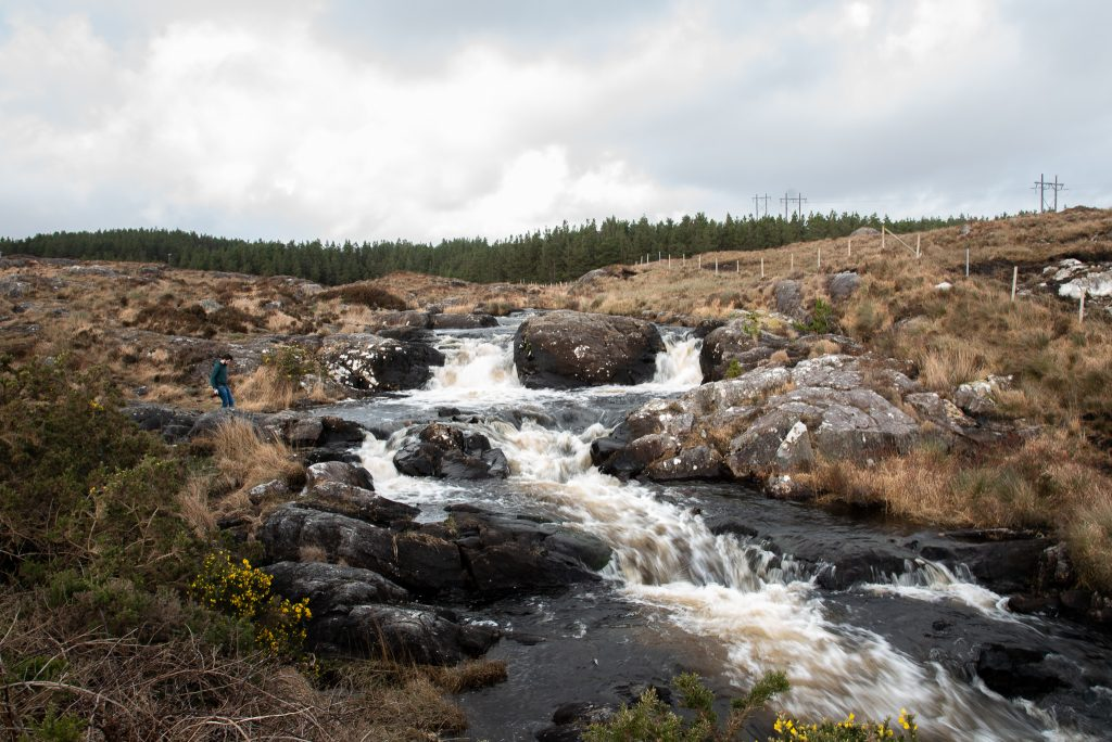 waterfall, the tales of tiny boots, galway, connemara