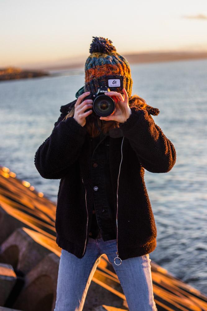 galway, ireland, photographer, salt hill, beach, ocean , sunset
