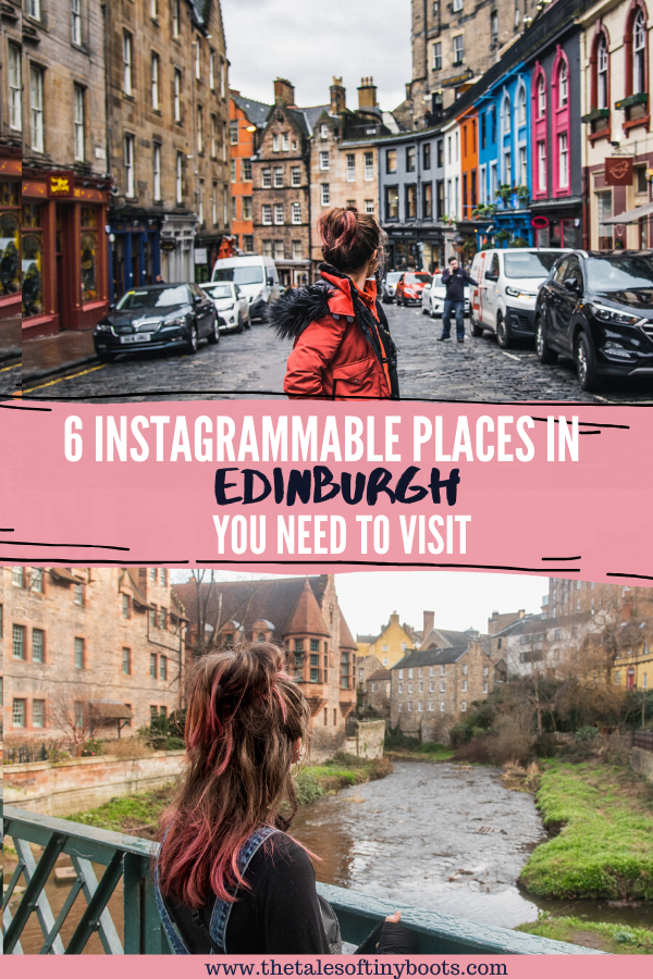 pin this post, instagrammable edinburgh