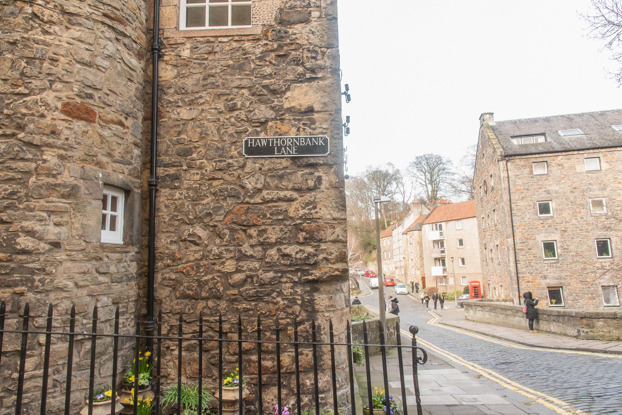 edinburgh, scotland, dean village, architecture