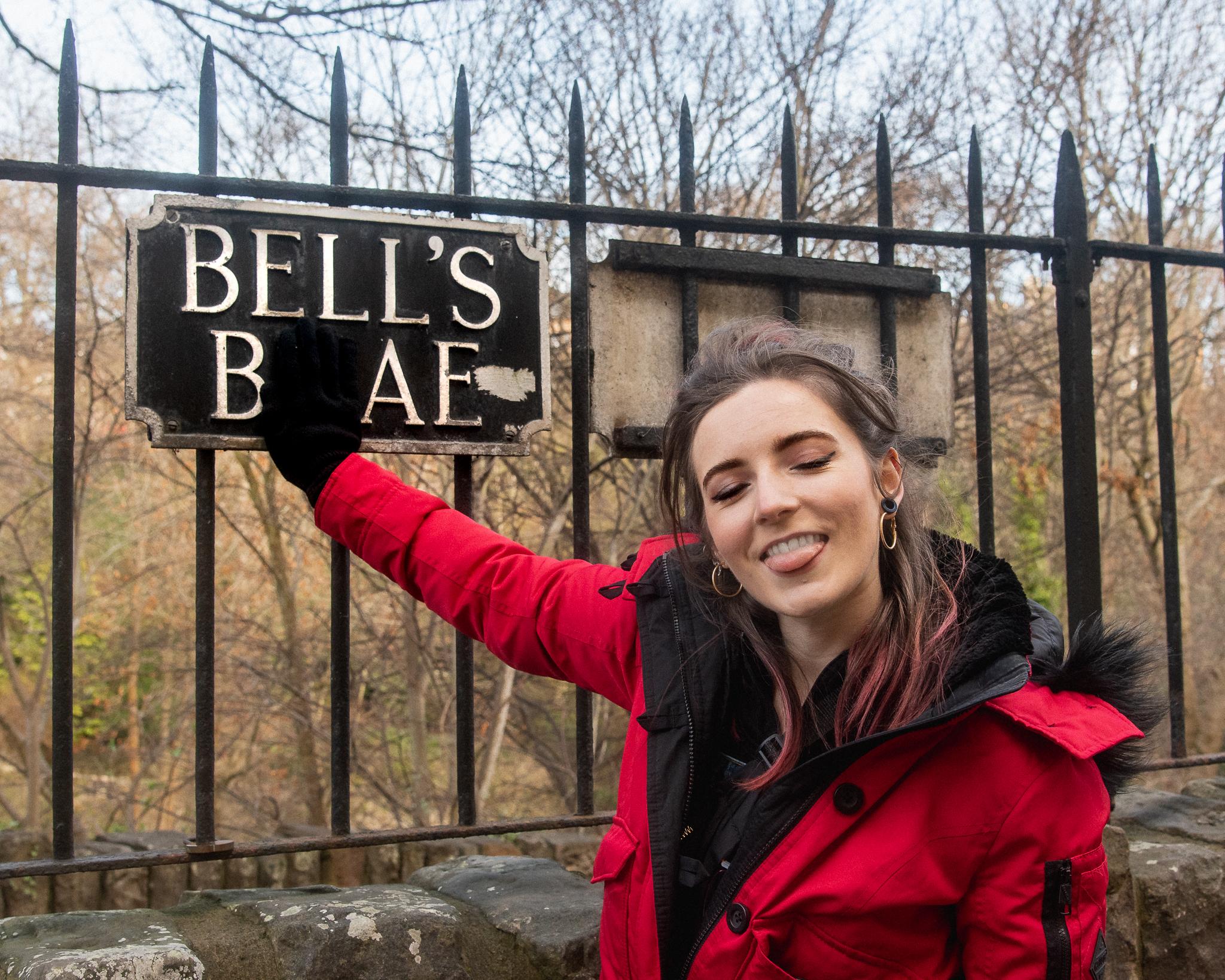 edinburgh, scotland, dean village, architecture, bell