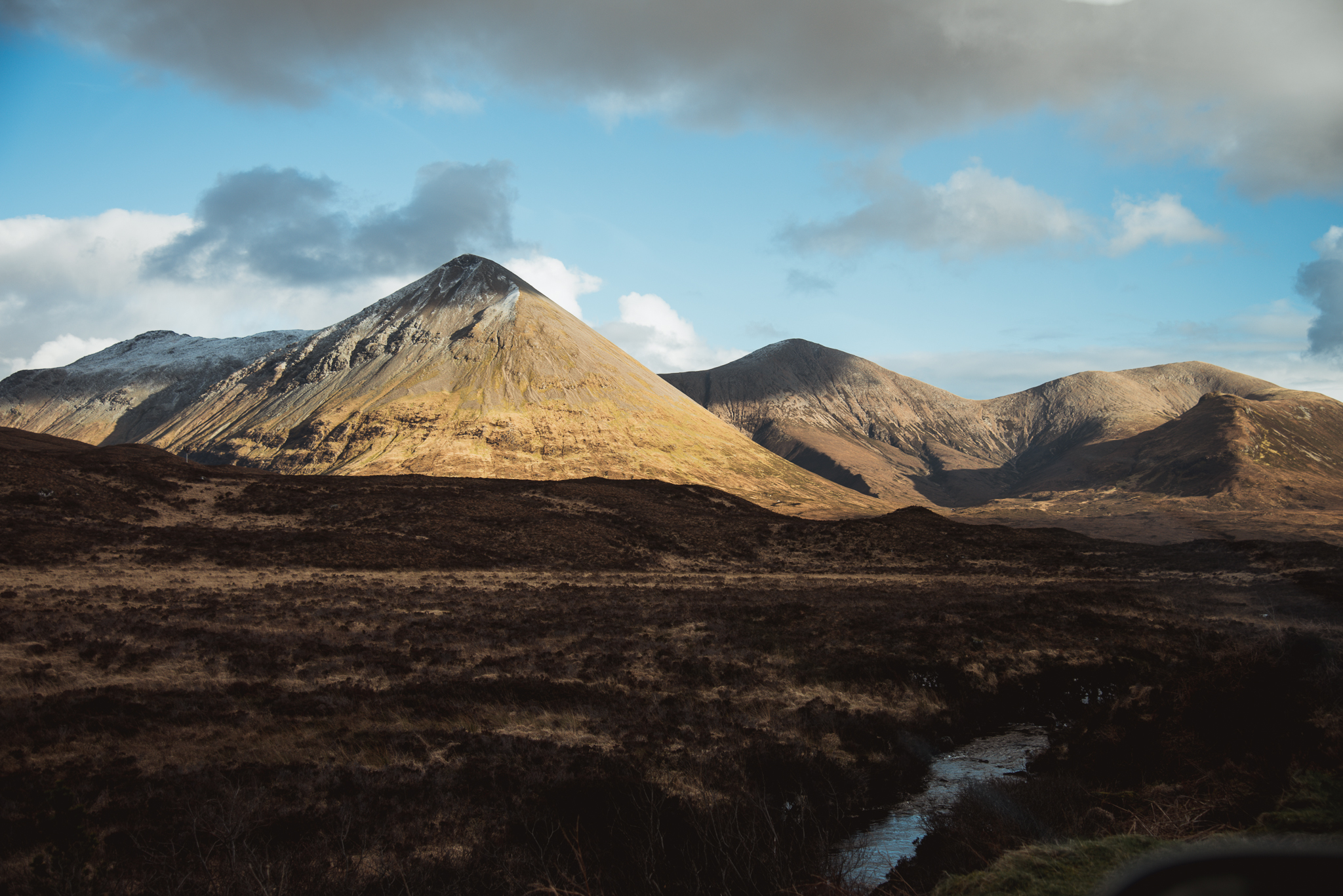 isle of skye, scotland, roadtrip, landscape, mountain