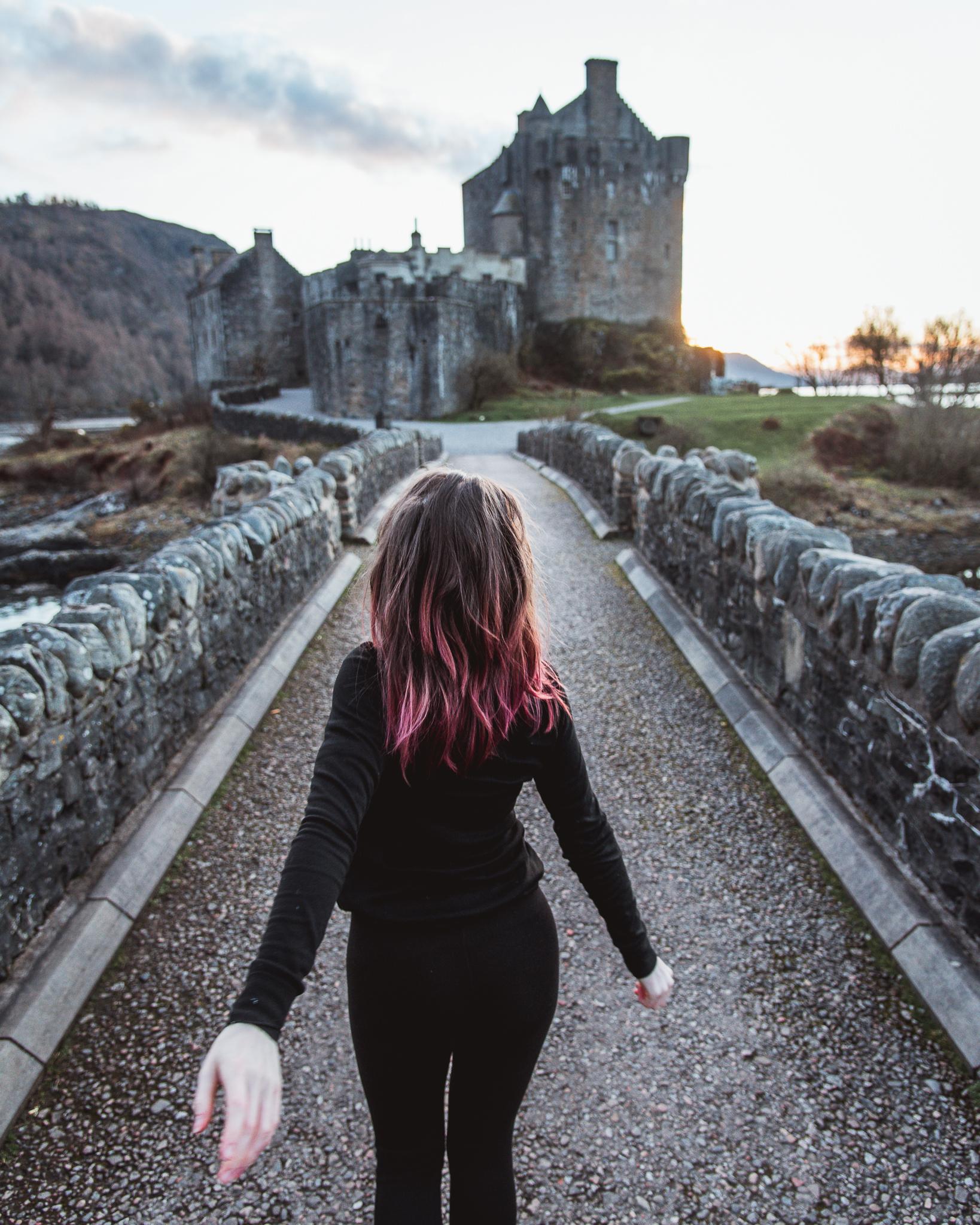 eilean donan, castle, scotland, instagram, instagrammable, ig
