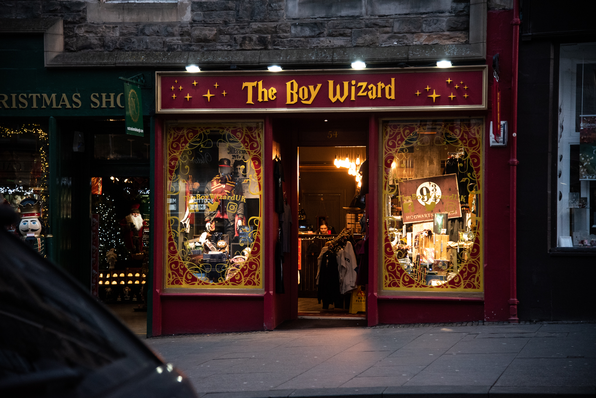 harry potter, scotland, edinburgh, colourful, travel