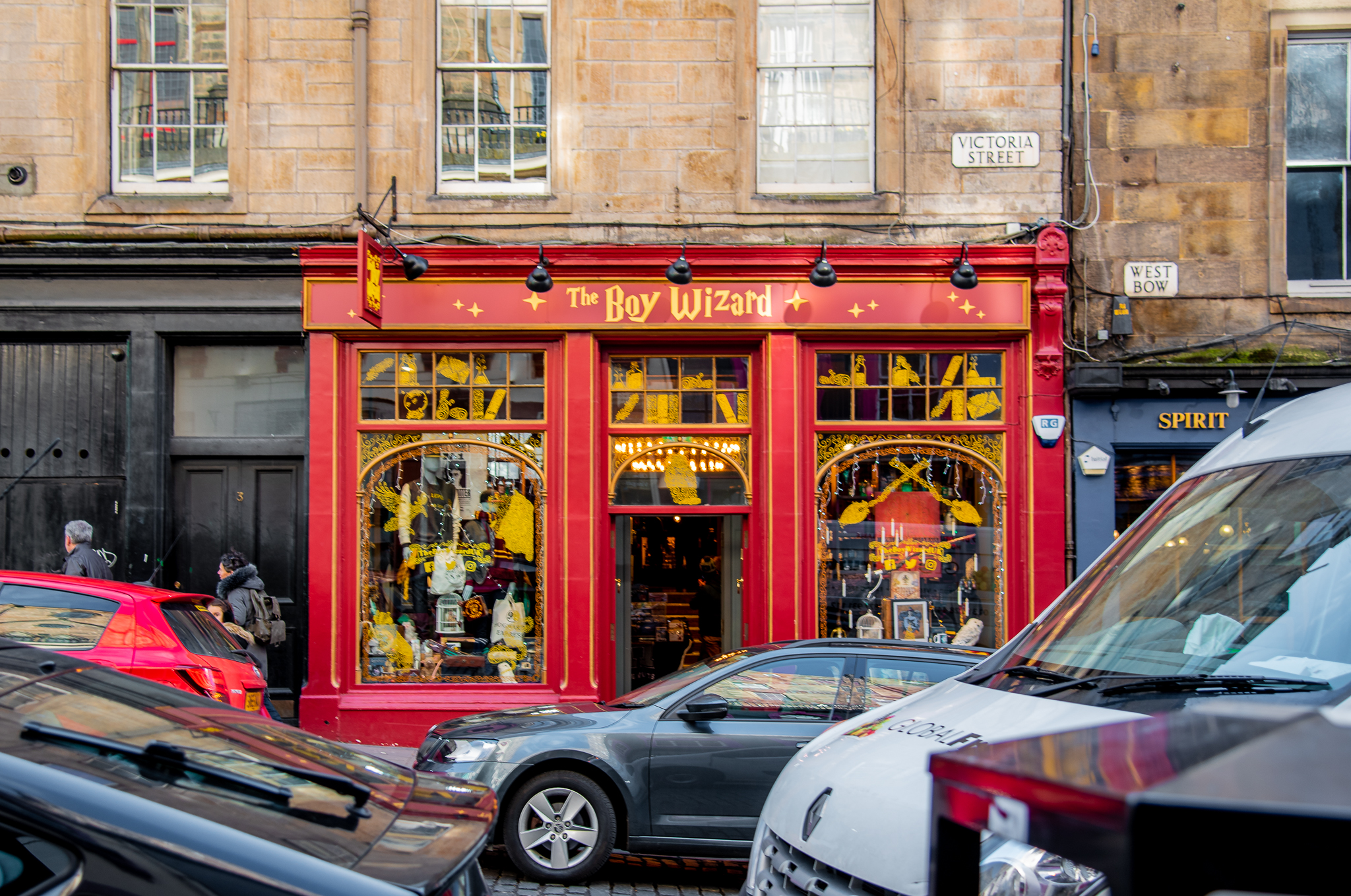 harry potter, jk rowling, edinburgh, magic , shops, victoria street, the boy wizard