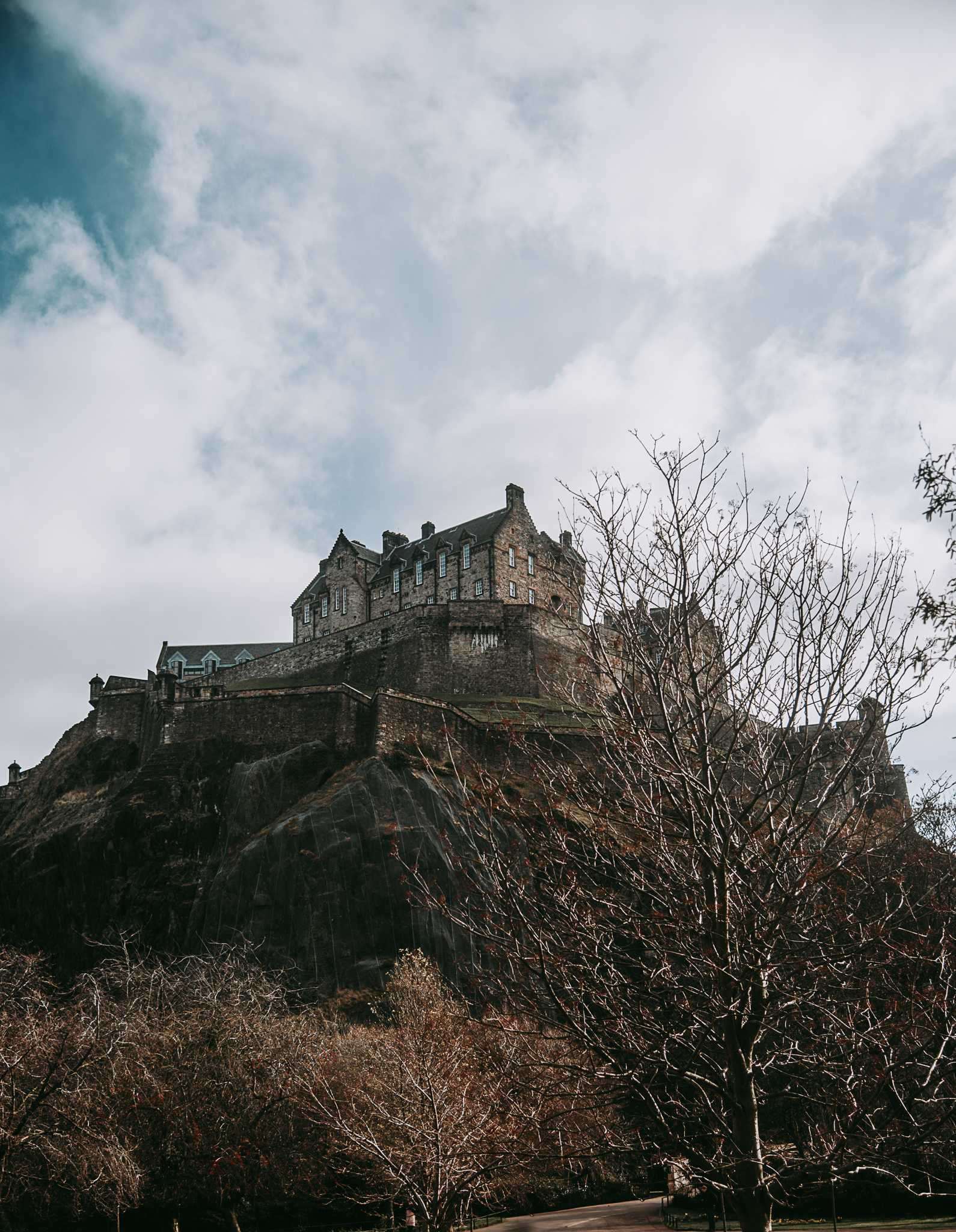 castle, edinburgh castle, edinburgh, harry potter