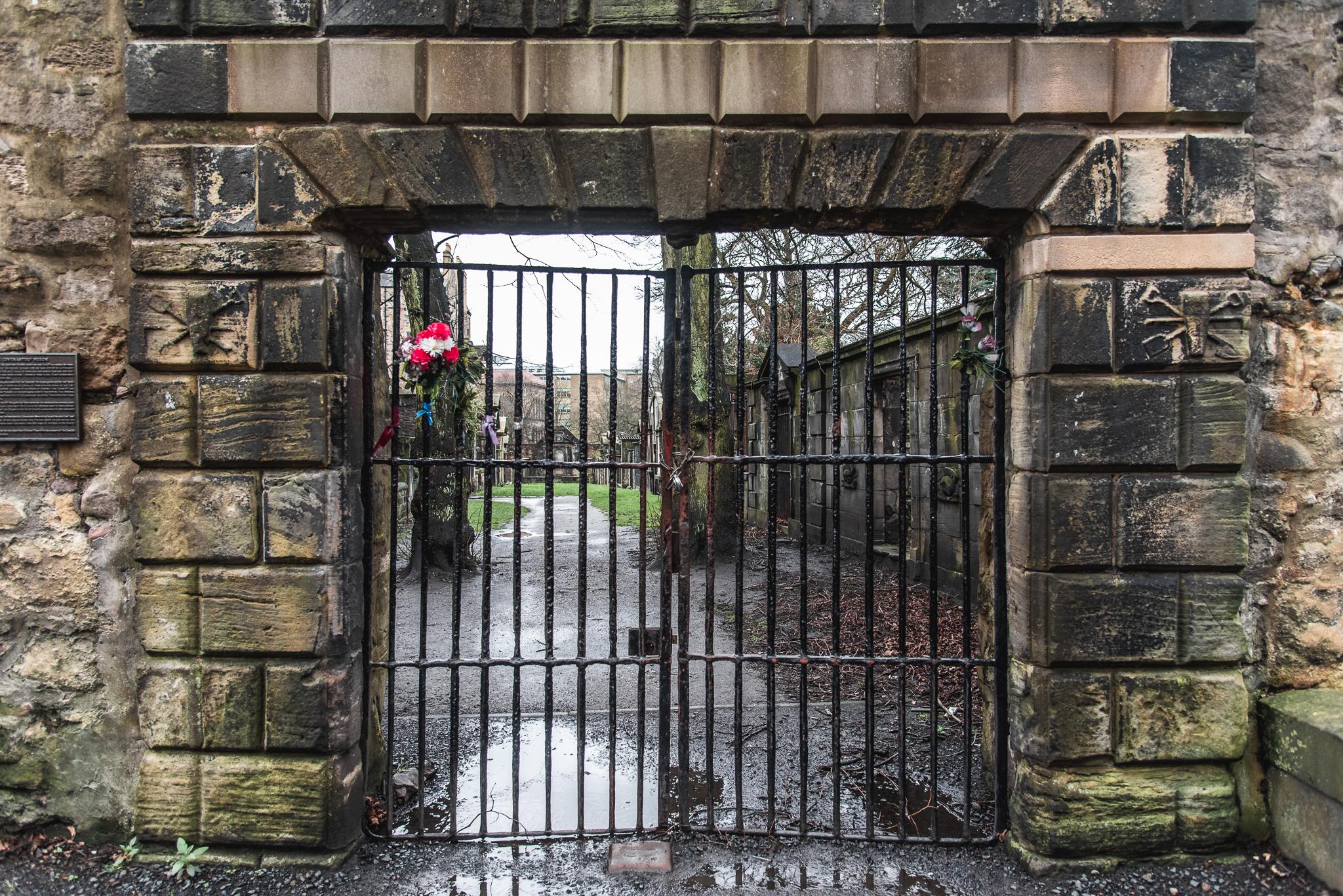 greyfriars kirkyard, graveyard, edinburgh
