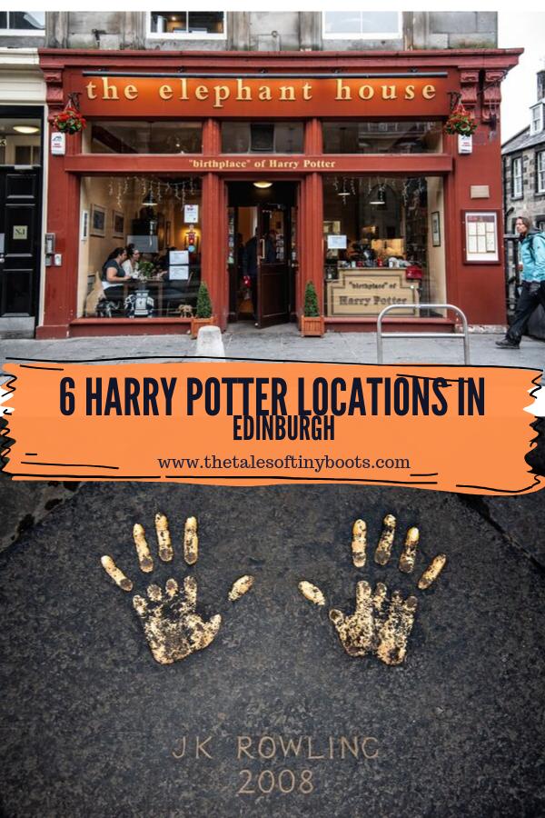 pin it, harry potter locations in edinburgh