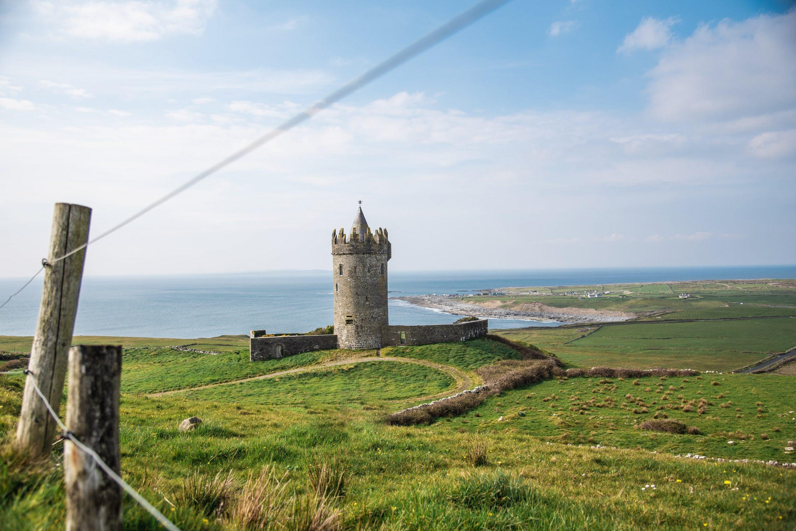 castle, clare, wild atlantic way