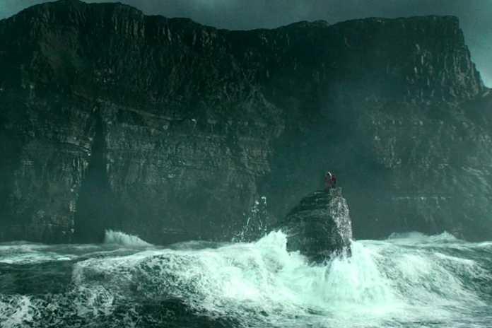 harry potter, cliffs of moher, ireland