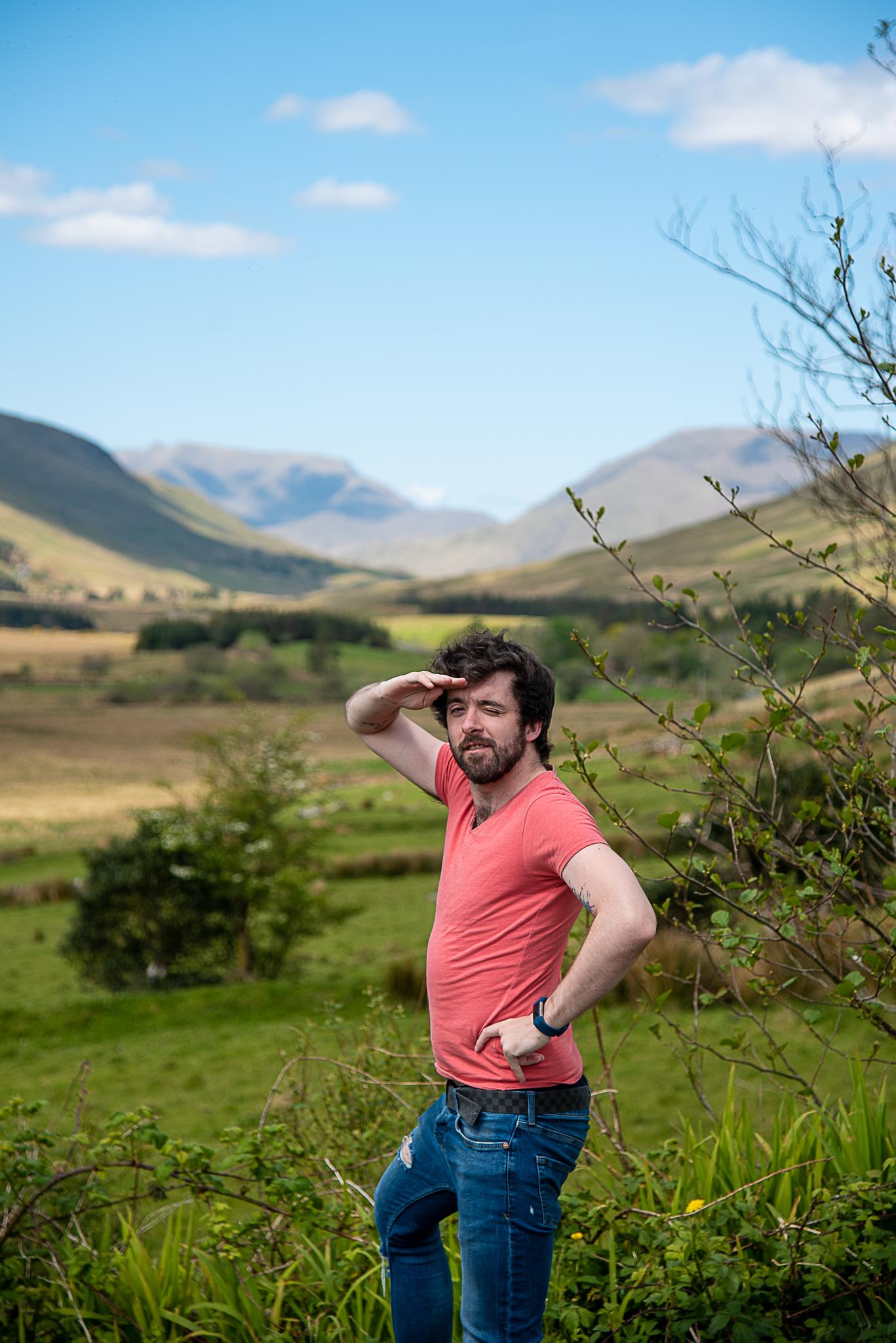 eoghan, connemara , summer, ireland