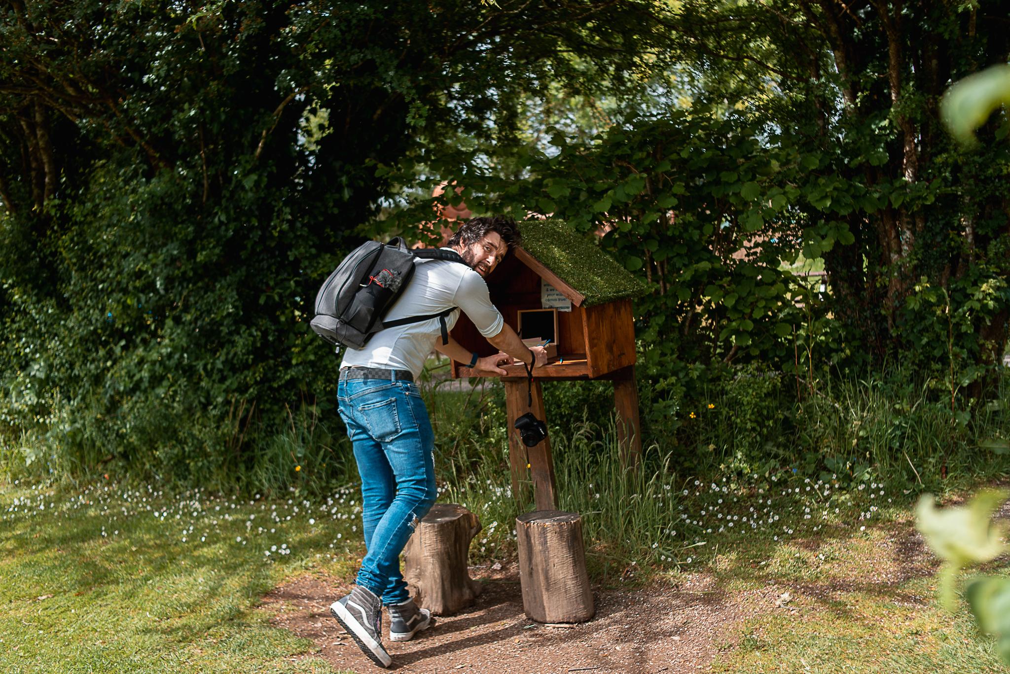 wishing tree, st brigits garden, galway, connemara