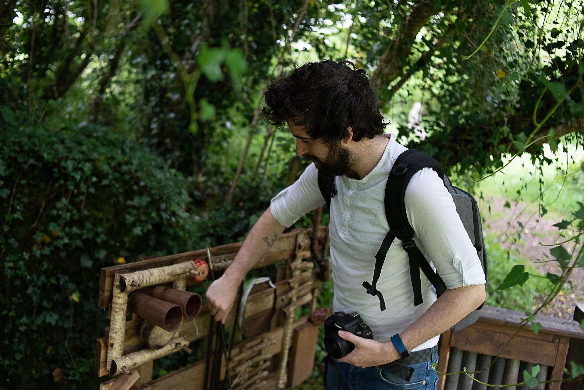 brigit's garden, connemara, galway, outdoors, family
