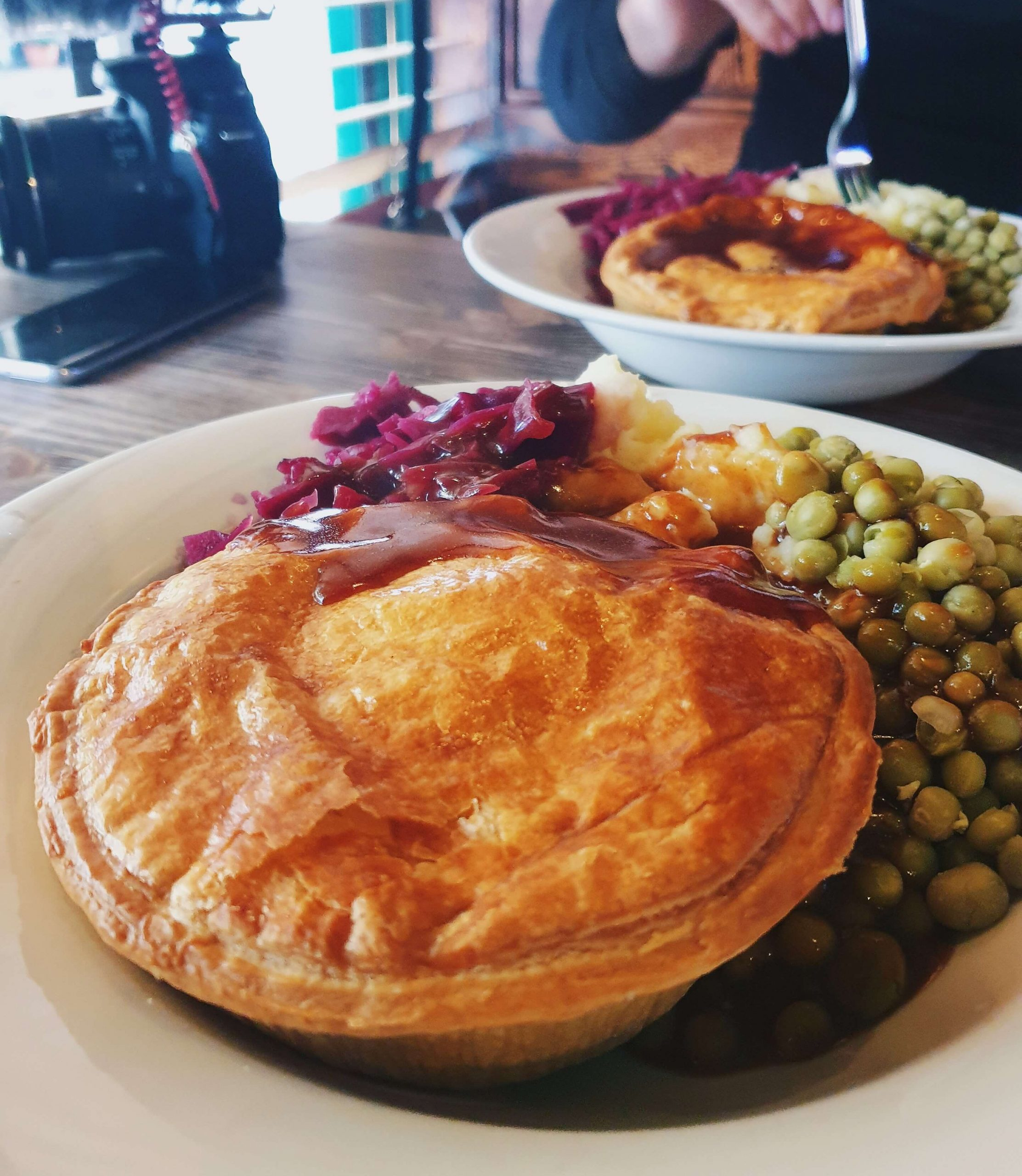 The Pie Maker, beef and Guinness stew, pie