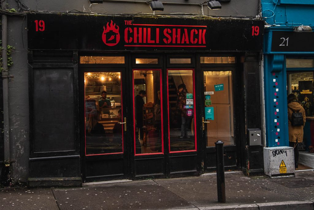 the chili shack, galway, cool places to eat