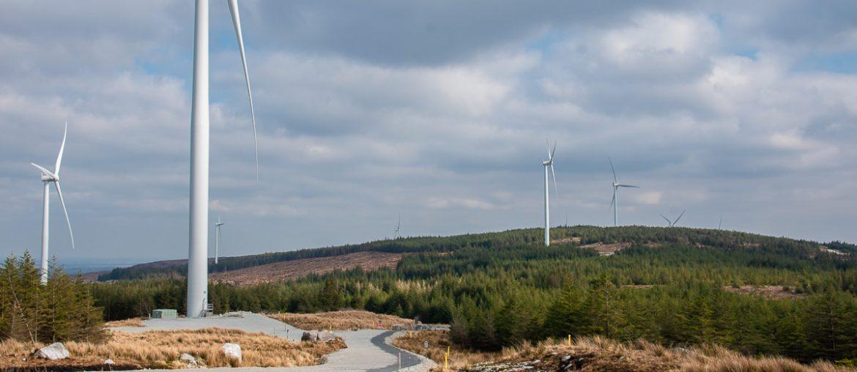 galway wind way, windmill, wind turbine, oughterard, Galway, ireland
