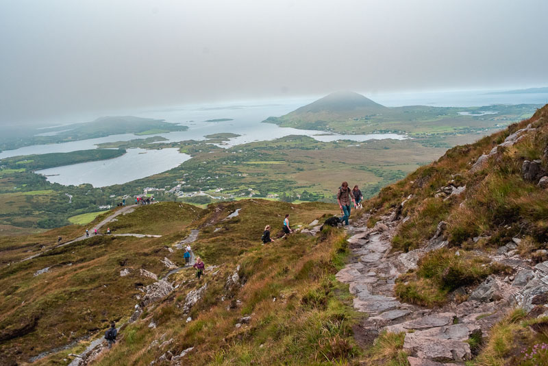 things to do in connemara, galway, ireland, west of ireland, brigits garden, staycation, roadtrip