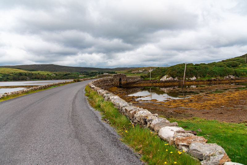 sky road, clifden, coastline, wild atlantic way, ireland