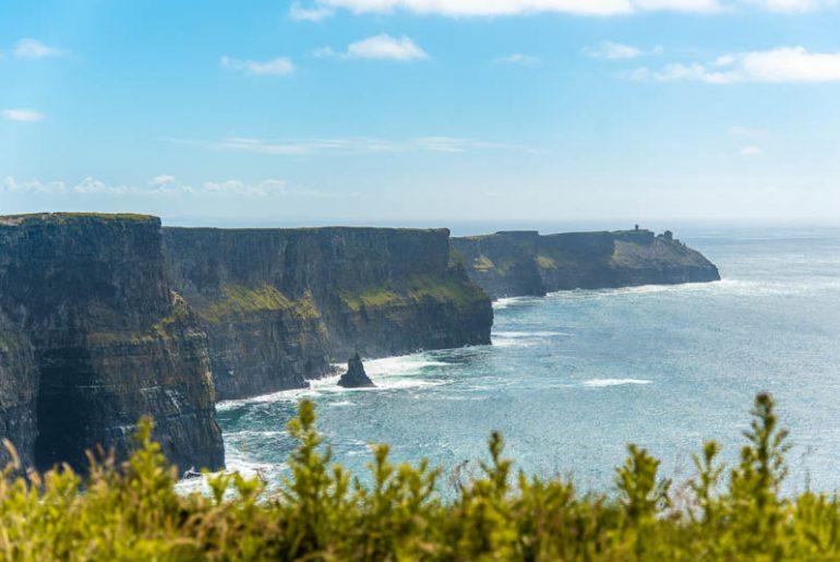 cliffs of moher, best cliffs in ireland, clare, ireland, wild atlantic way cliffs