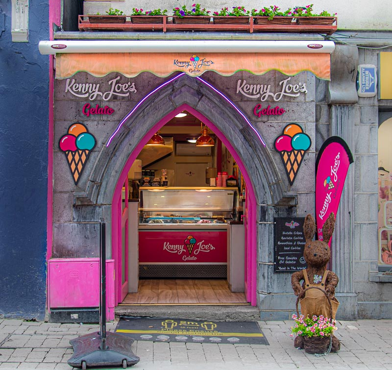 Kenny Joes Gelato galway city, best icrecream