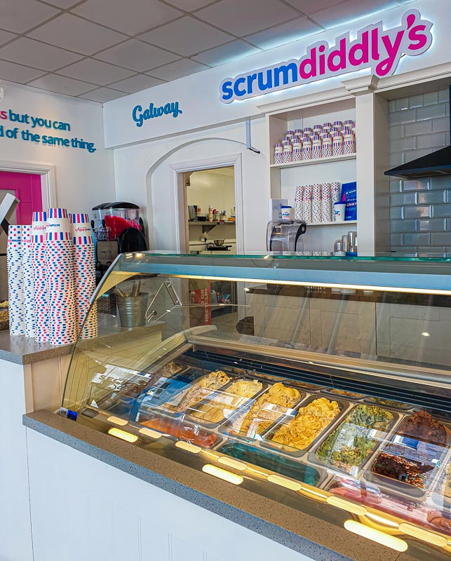 scrumdiddlys, best ice cream galway city