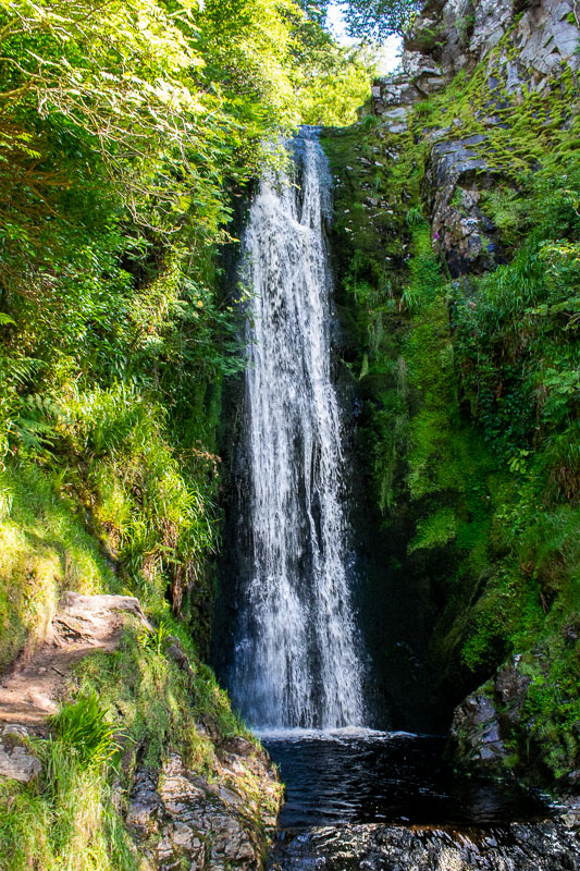 donegal things to do. Glenevin waterfall