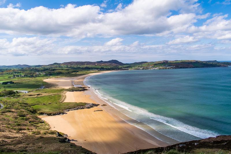 fanad head lighthouse, fanad peinsula, donegl, ireland, things to do in donegal, scenery, scenic, beach, gold sandy beach, irish beach, ballymastocker bay