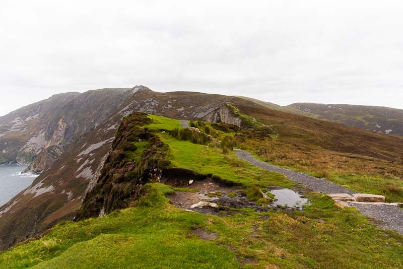 slieve league hike donegal