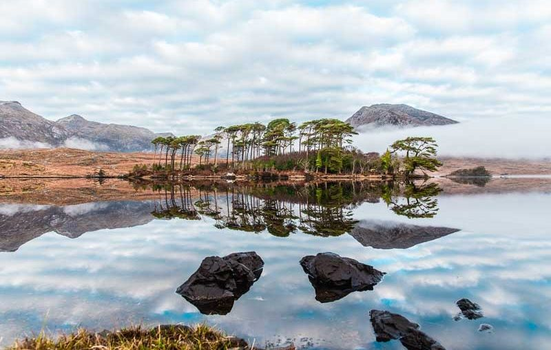 Things to do in Galway, Connemara view points, scenery galway ireland, pine island, derryclare lake