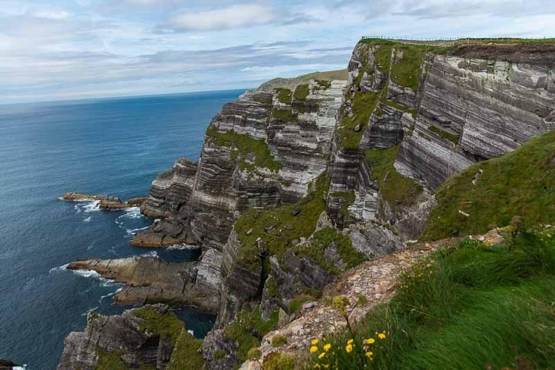 best cliffs in ireland, kerry cliffs
